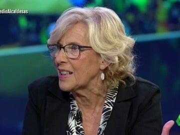 La definición de Manuela Carmena sobre democracia que deja ojiplático a El Gran Wyoming