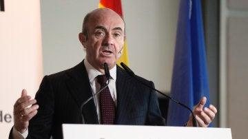 El ministro de Economía, Industria y Competitividad, Luis de Guindos, en una imagen de archivo