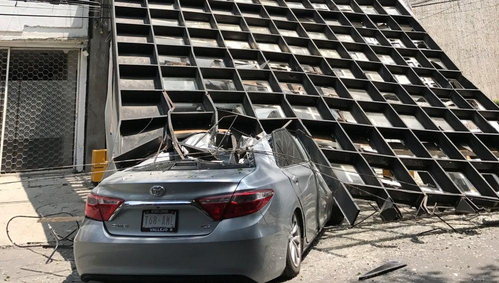 Daños causado por el terremoto