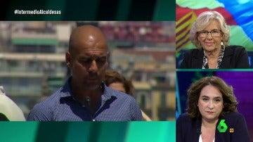 Manuela Carmena, Ada Colau y Pep Guardiola
