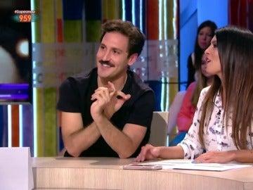 Álex Gadea y Lorena Castell en Zapeando