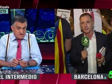 """La reivindicación de Wyoming a favor del periodismo tras la """"complicada"""" conexión con Hilario Pino en Barcelona: """"Imagina que te gritan y tú poniendo cara de paisaje"""""""
