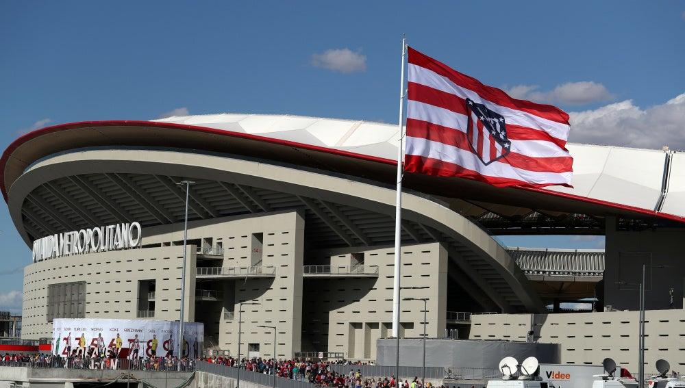 El Wanda Metropolitano, el día de su estreno