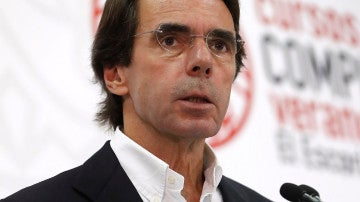 El expresidente del Gobierno José María Aznar