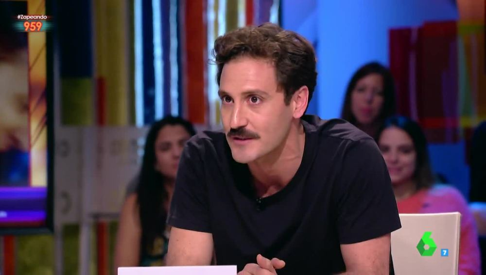 El actor Álex Gadea visita Zapeando