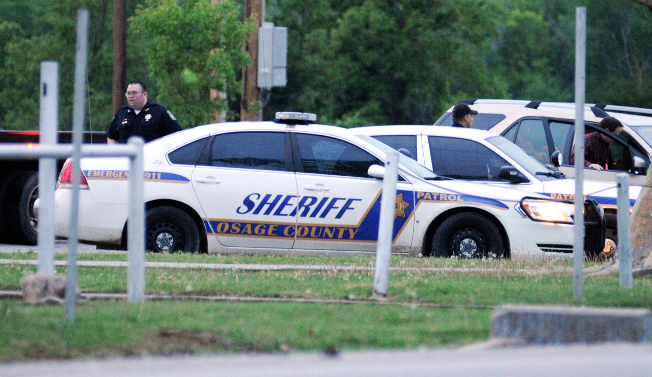 Miembros del departamento de policía de Tulsa, en Oklahoma, EEUU