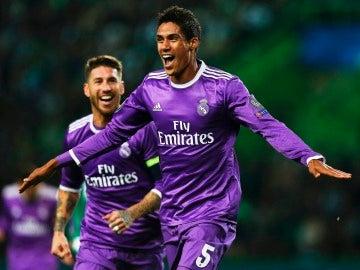 Varane con el Real Madrid