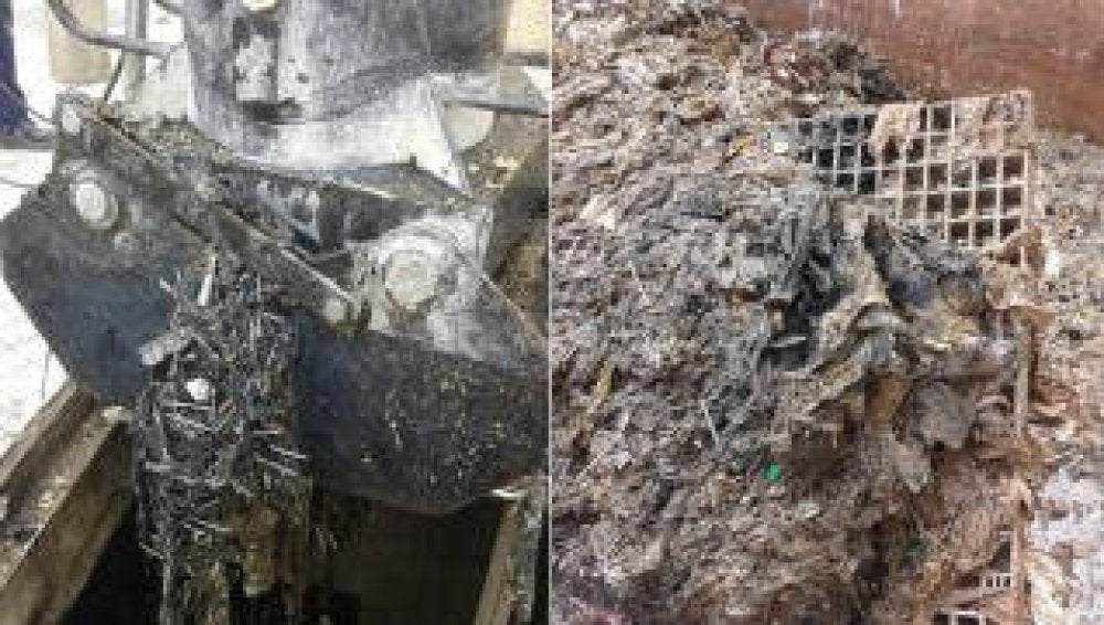 Reparar el colector atascado por las toallitas costará 2.200.000 euros