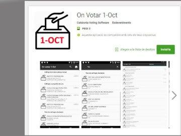 La app anunciada por Puigdemont para informarse de dónde votar el 1-O