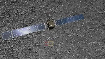 Rosetta captó una última imagen que había pasado inadvertida a los expertos de la ESA
