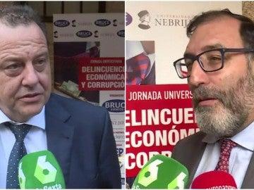 El exfiscal Pedro Horrach y el juez Eloy Velasco