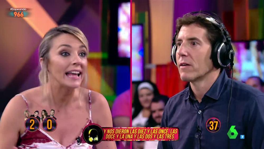 Manel Fuentes, encantado con Anna Simon