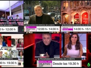 1-O: Despliegue masivo de laSexta en una fecha clave para Cataluña y para España