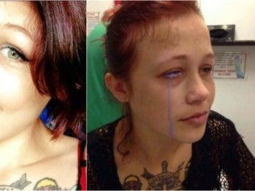 El antes y después del tatuaje de Cat Gallinger