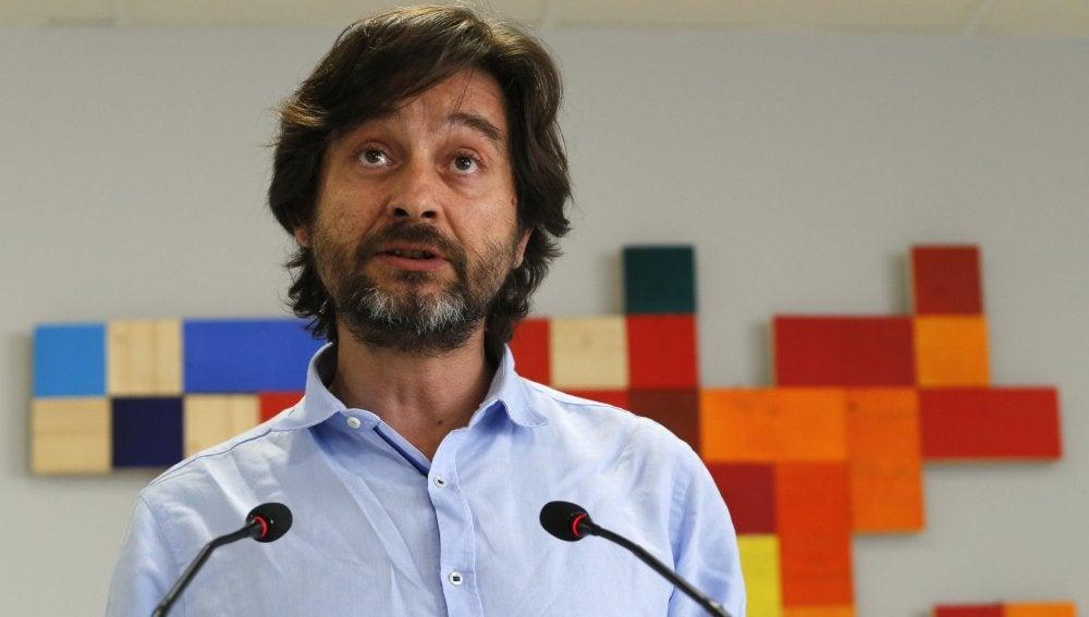 El responsable de Sociedad Civil de Podemos, Rafa Mayoral.