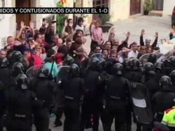 Denuncian la brutalidad policial en Aiguaviva, un pueblo de Girona