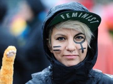 Feministas en una manifestación