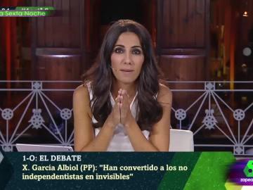 La complicada tarea de Ana Pastor de mediar entre los invitados de laSexta Noche