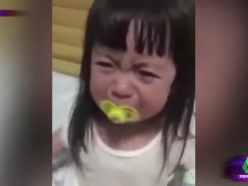 Así es el falso llanto de una niña que se ha hecho viral el redes