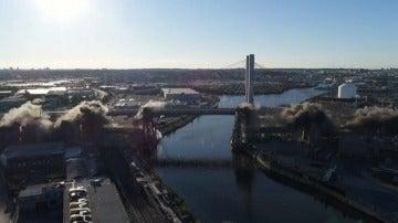 Nueva York se despide del puente Kosciuszko uno de sus puentes más emblemáticos