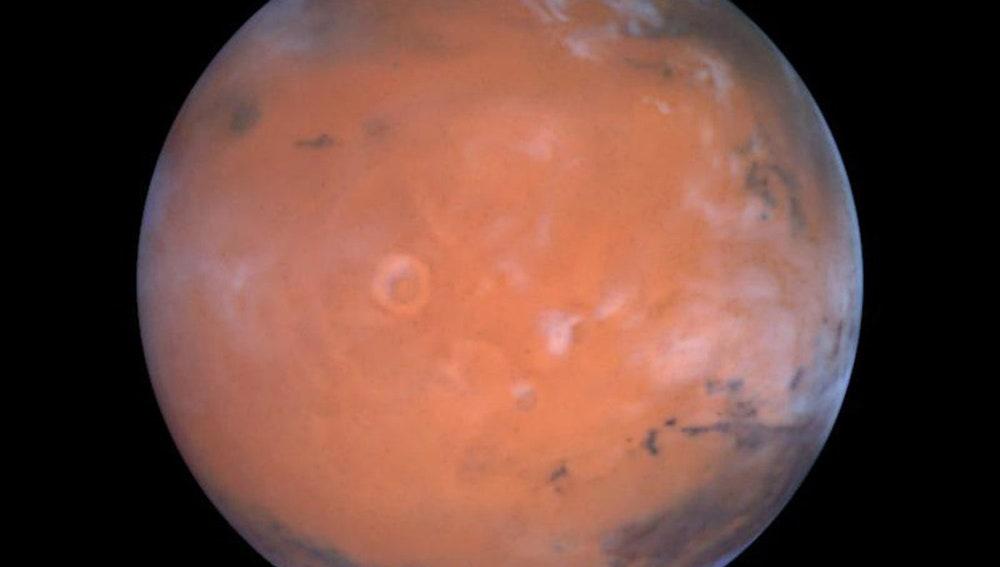 Marte, el Planeta Rojo, visto por el telescopio espacial Hubble
