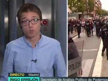 Íñigo Errejón, en 'Más Vale Tarde'