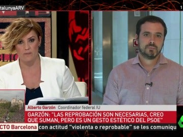 El coordinador federal de IU, Alberto Garzón