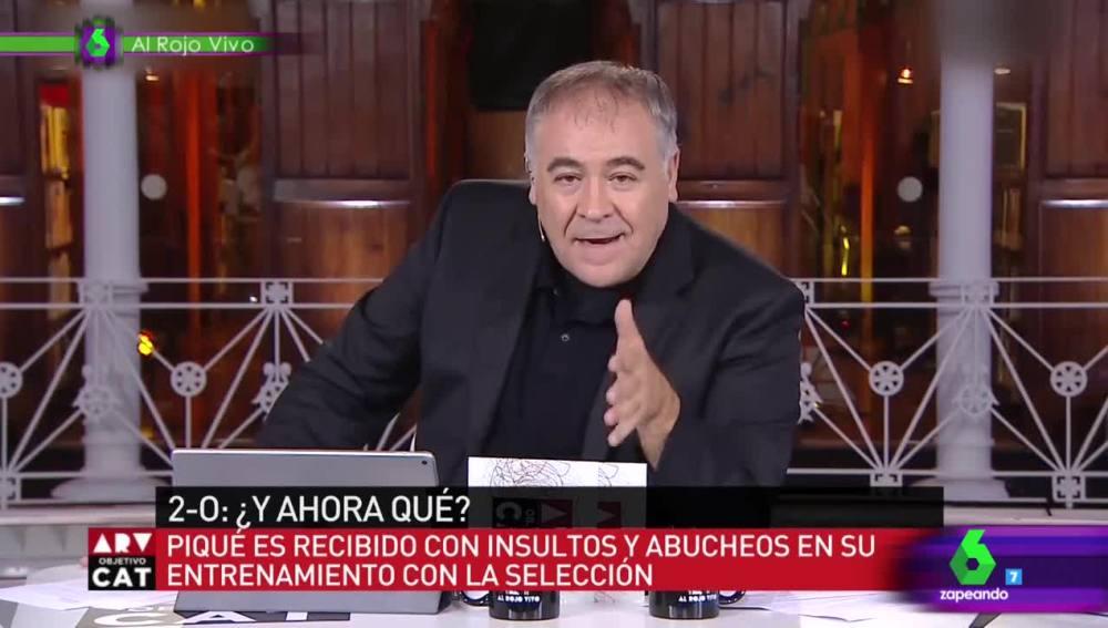 El alegato de Ferreras en defensa de Piqué