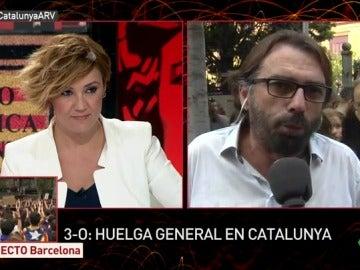 Camil Ros, secretario general de UGT Cataluña