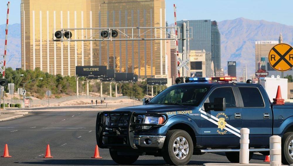 Lugar del tiroteo en Las Vegas