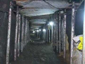 Túnel descubierto en Brasil que conectaba con la caja fuerte de un banco