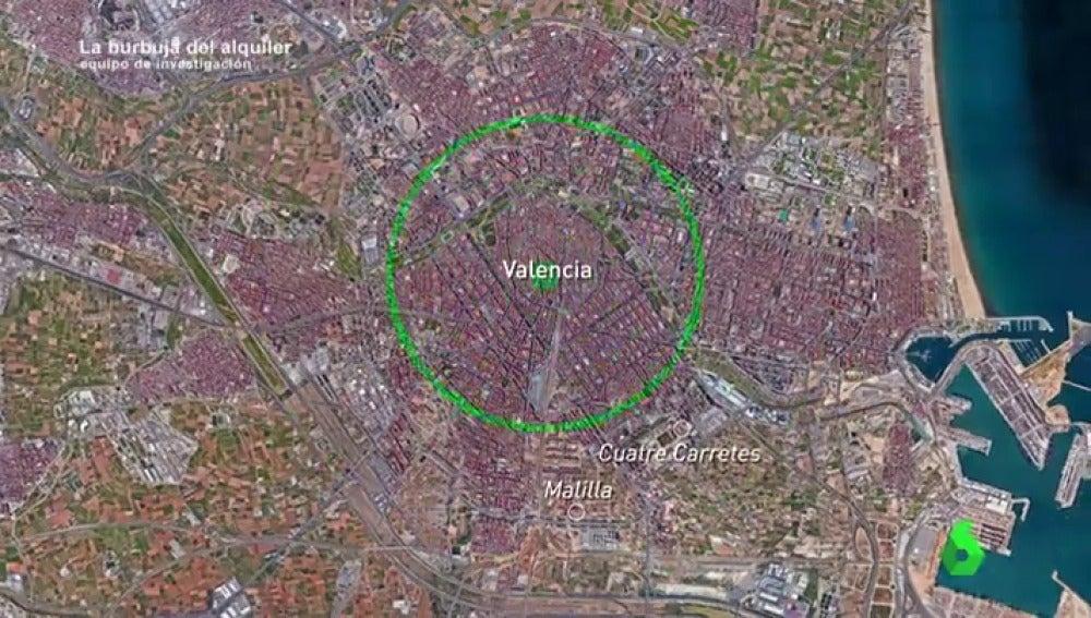 Del centro de la ciudad a barrios fantasma de la periferia: el éxodo forzado por los desorbitados alquileres