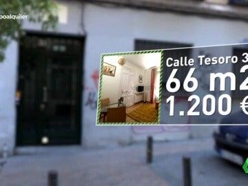 La burbuja del alquiler en Madrid: un piso de 60 metros por 1.200 euros en Malasaña sólo dura 24 horas disponible