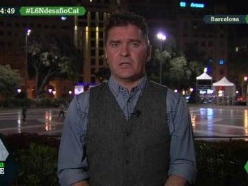 El periodista de 'Crónica Global', Carlos Quílez