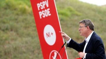 El secretario general del PSPV, Ximo Puig