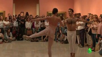 Cóctel de danza y pintura para celebrar el 25 aniversario del Museo Thyssen-Bornemisza