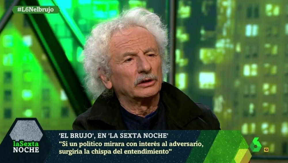 El actor y dramaturgo Rafael Álvarez 'El Brujo'