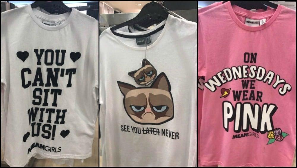 Polémicas camisetas de venta en Primark