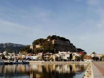 Imagen del castillo de Dénia