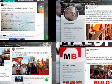 Los bulos sobre la manifestación de Barcelona