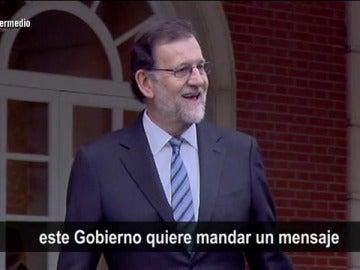 """""""Maricón el último"""": la 'campaña' del 'Gobierno' sobre la huida de las empresas de Cataluña para contrarrestar la del Govern"""