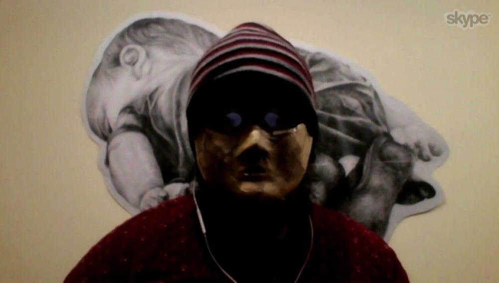 """El 'Banksy' chino: """"Los derechos humanos han ido a peor en mi país"""""""
