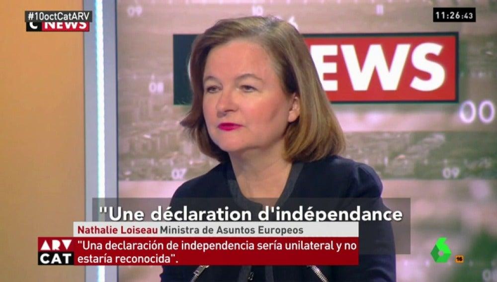 Secretaria de Estado de Asuntos Europeos de Francia, Nathalie Loiseau