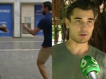 Vicente, agredido en Valencia