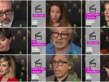 Rostros destacados del cine