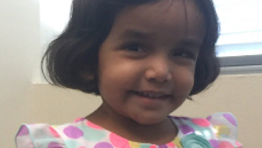 La niña desaparecida en Texas