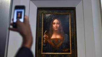 El salvador del mundo, Leonardo da Vinci