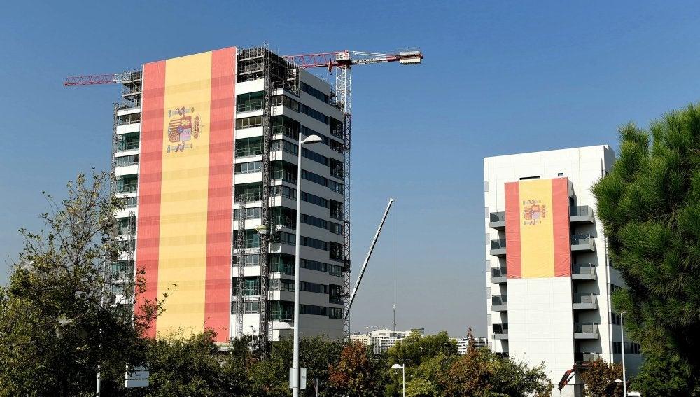 La bandera de España más grande jamás fabricada