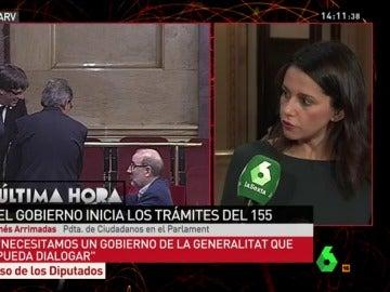 Inés Arrimadas, en Al Rojo Vivo