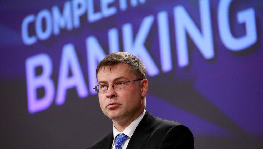 Valdis Dombrovskis, vicepresidente de la Comisión Europea
